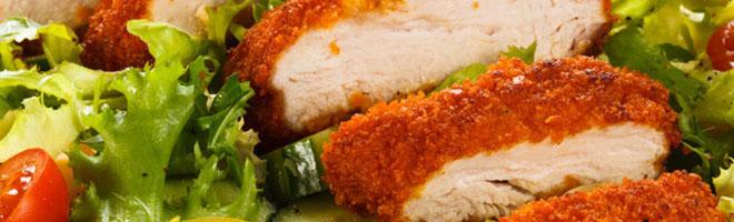 | Hühnerfleisch mit Reis